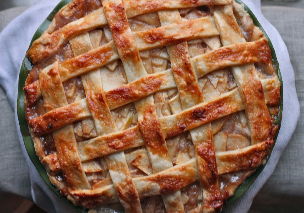 Fall isn't complete without a giant slice of Salted Caramel Apple Pie!