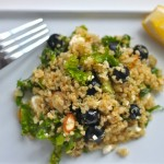 Blueberry and Kale Quinoa Salad