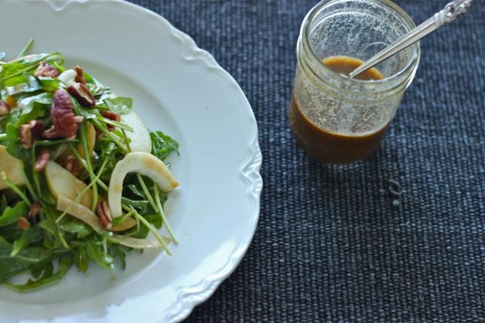 Balsamic Dijon Vinaigrette & A Fall Salad