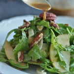 Balsamic Dijon Vinaigrette & A Fall Salad