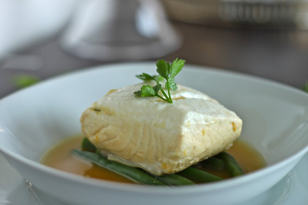 ... poached fish for it's simplicity, delicate texture and clean taste