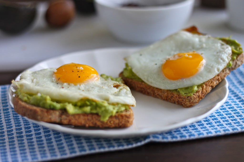 Avocado Toast with Egg is so simple, yet so delicious and satisfying! TheCornerKitchenBlog.com #avocadotoast