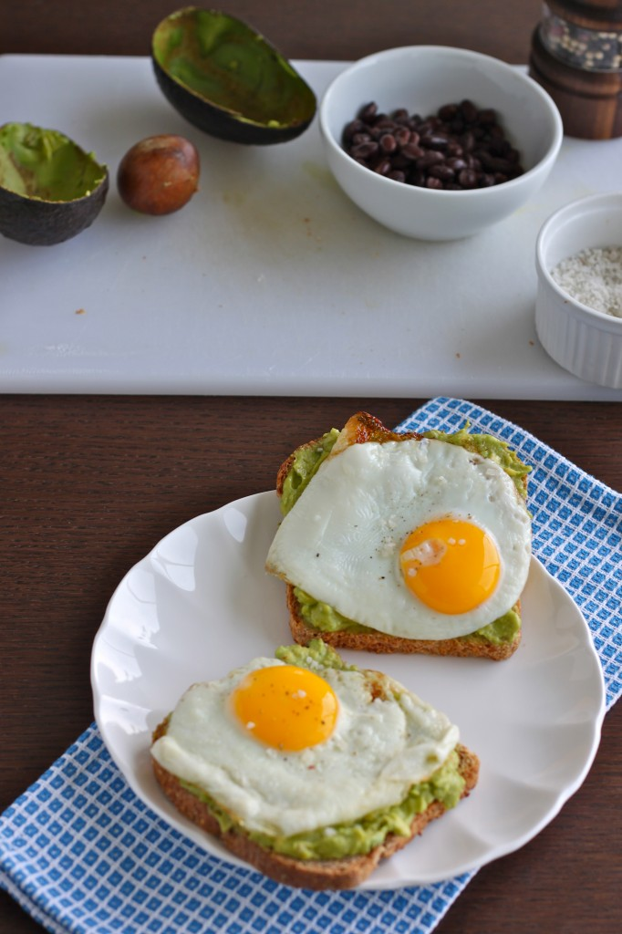 Avocado Toast with Egg is so simple, yet so delicious and satisfying! TheCornerKitchenBlog.com #avocado