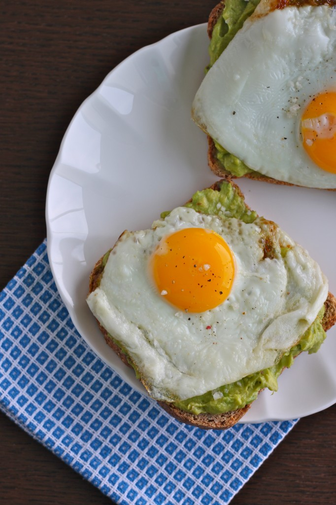 Avocado Toast with Egg is so simple, yet so delicious and satisfying! | TheCornerKitchenBlog.com #avocadotoast