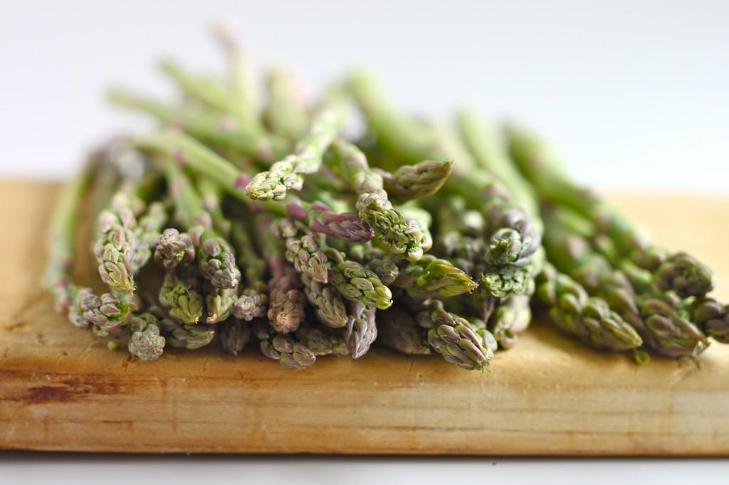 Sesame Roasted Asparagus