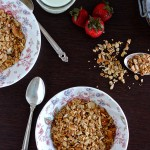 Maple Quinoa Granola - TheCornerKitchenBlog.com
