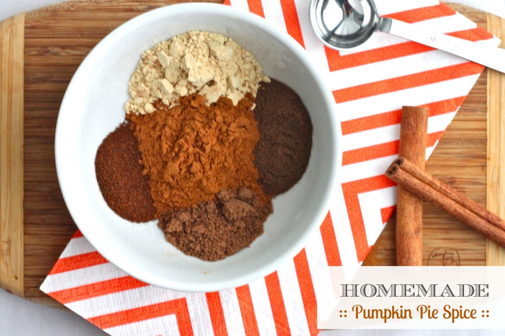 pumpkin pie spice - header