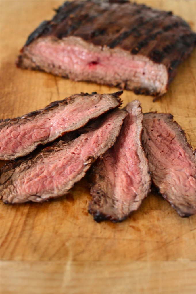 Red Wine Marinated Flank Steak