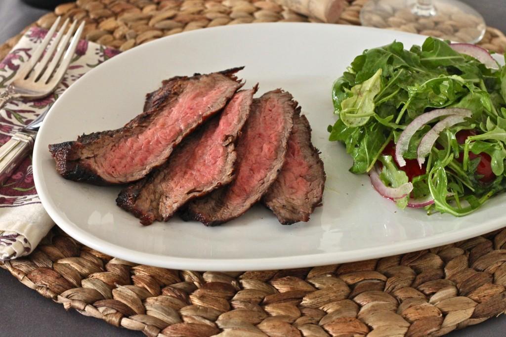 Red Wine Marinated Flank Steak