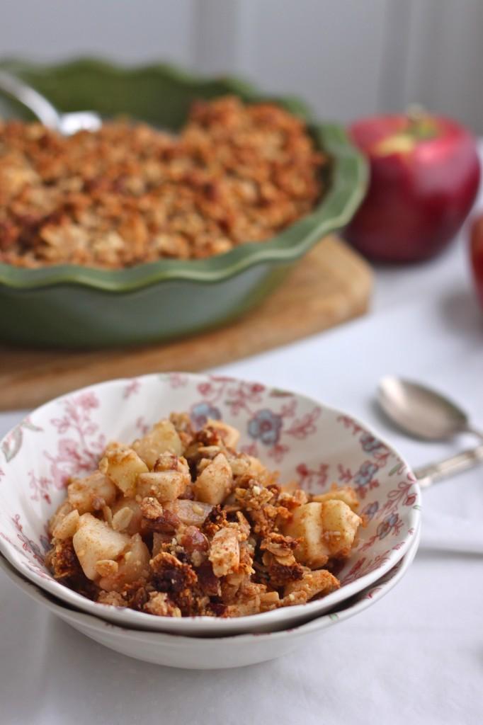 Gluten Free Apple Crisp is an easy to make fall-favorite dessert!