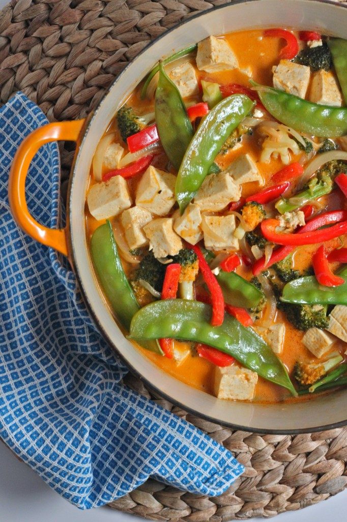 Vegan Red Thai Curry