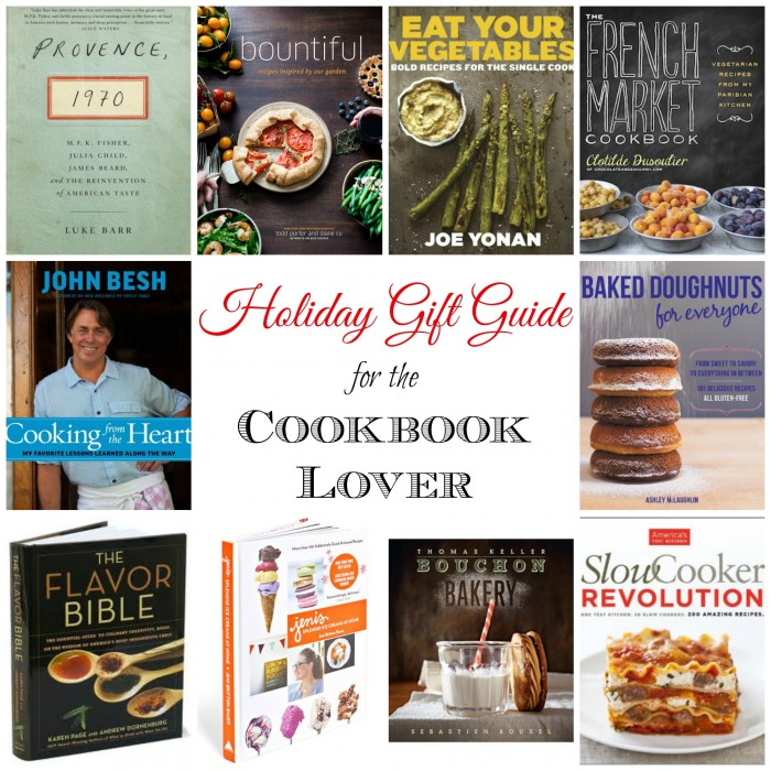 Holiday Gift Guide: For the Cookbook Lover