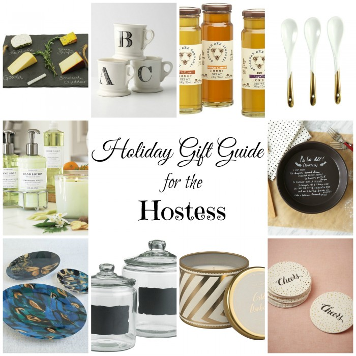 Gift Guide - Hostess Collage