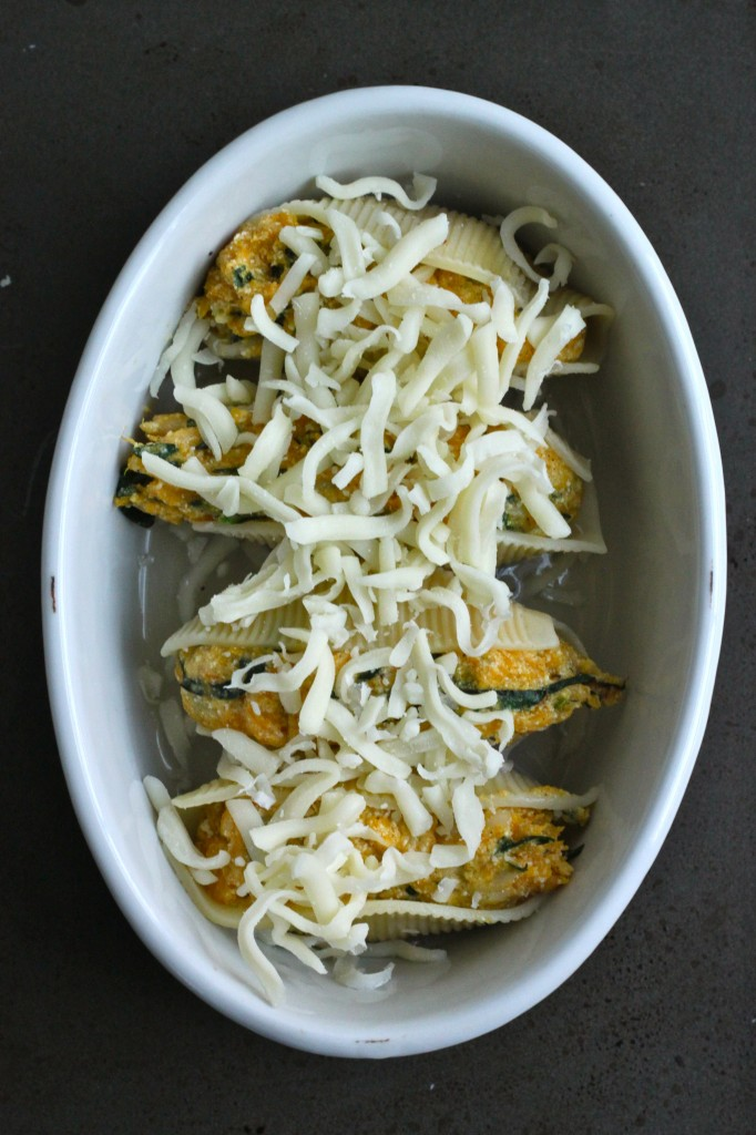 Butternut Squash & Kale Stuffed Shells