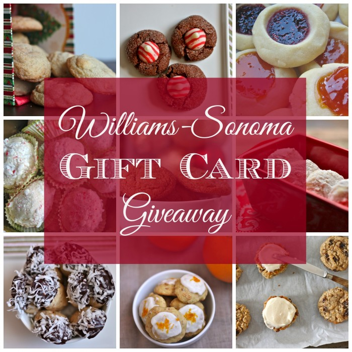 williams-sonoma gift card Collage