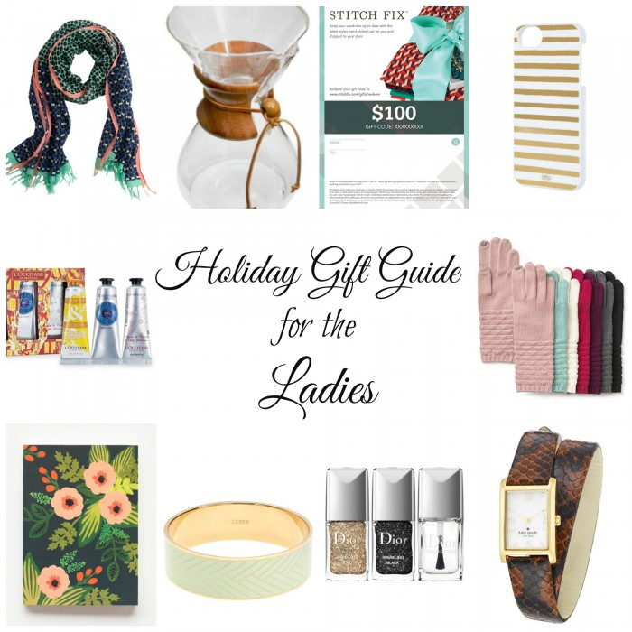 Holiday Gift Guide: for the Ladies