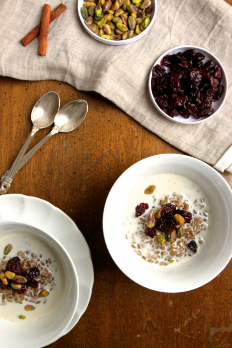 Freekeh Breakfast Bowl