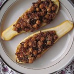 Summer Squash with Quinoa Stuffing