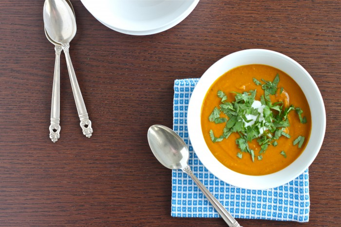 Spiced Red Lentil Soup