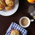 Move over lemon poppy muffins, Healthier Meyer Lemon Chia Seed Muffins are taking center stage! | TheCornerKitchenBlog.com #healthy #breakfast