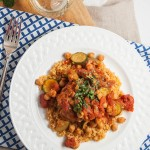 Chicken with Harissa and Couscous