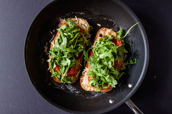 Grown Up BLT Grilled Cheese