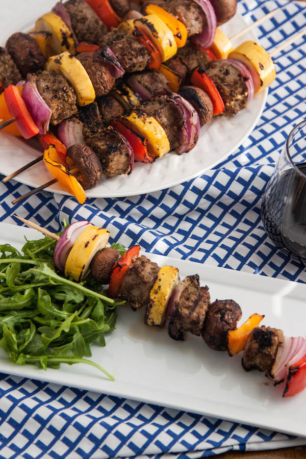 Cumin Scented Beef Kabobs