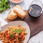 Pasta with Homemade Creamy Tomato Sauce (Vegan)