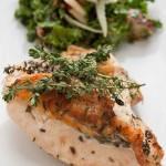 Weeknight Garlic and Herb Roast Chicken Breasts