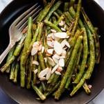 Harissa Roasted Green Beans