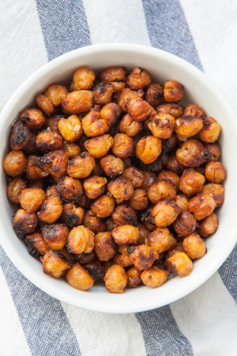 Miso Roasted Chickpeas
