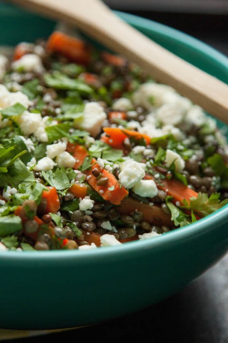 Carrot and Lentil Salad | TheCornerKitchenBlog.com