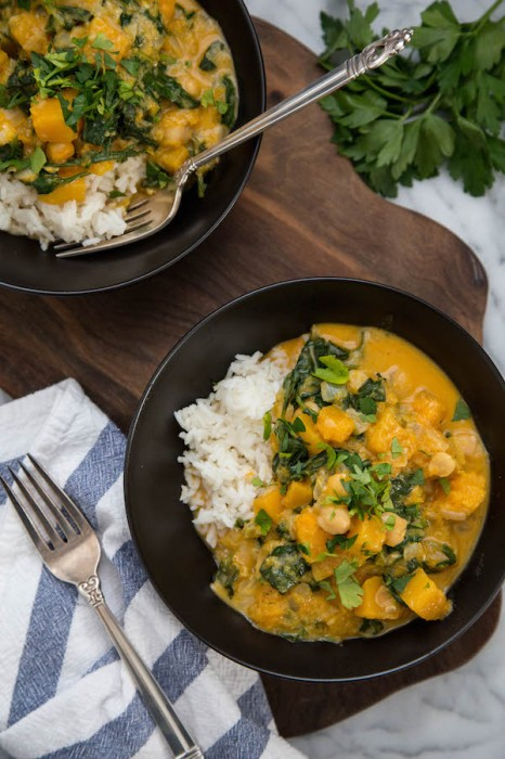 Winter Squash Coconut Curry