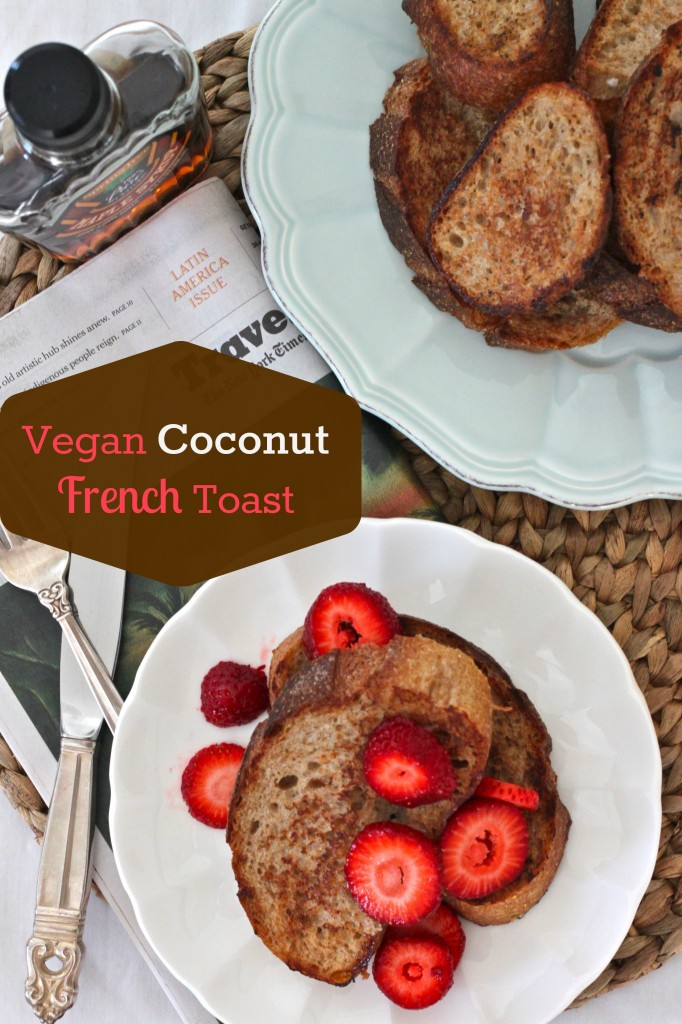Vegan Coconut French Toast